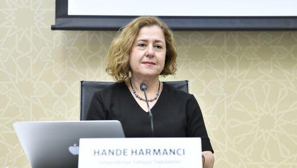 Представитель Всемирной организации здравоохранения (ВОЗ) в Азербайджане Ханде Харманджи  - Sputnik Азербайджан