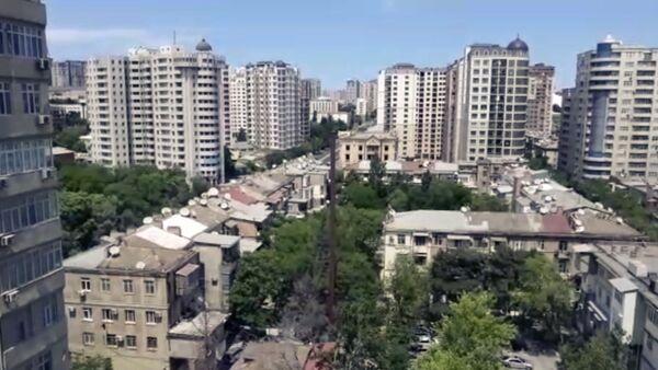Баку и Сумгайыт погрузились в тишину: как выглядят улицы в режиме строгой изоляции - Sputnik Азербайджан