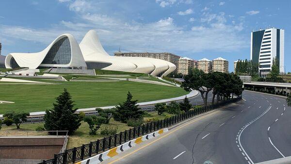 Во время спецрежима - Sputnik Азербайджан