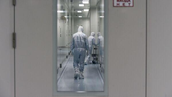 Медицинский работник , фото из архива - Sputnik Азербайджан