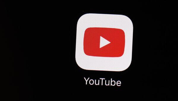 Иконка YouTube, фото из архива - Sputnik Азербайджан