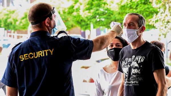 Ситуация в связи с эпидемиологической обстановкой в Грузии - Sputnik Azərbaycan