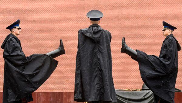 Памятник неизвестному солдату в Москве - Sputnik Азербайджан