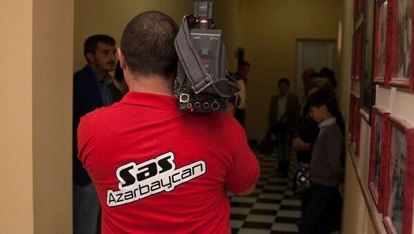 Сьемки шоу Голос Азербайджана - Sputnik Азербайджан