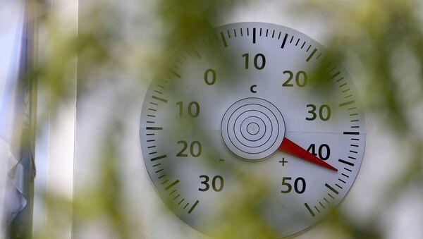 Термометр, фото из архива - Sputnik Azərbaycan