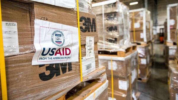 Гумпомощь представительства Агентства международного развития США (USAID) - Sputnik Азербайджан