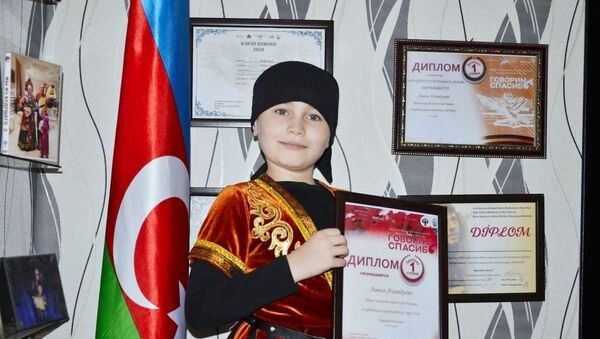 Девятилетний Амаль Ахмадулин - Sputnik Азербайджан