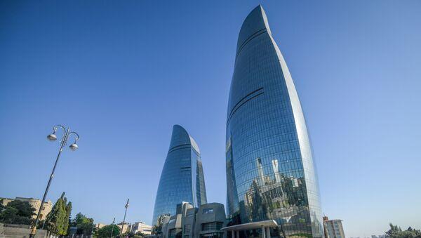 Flame Towers qülləsi - Sputnik Азербайджан