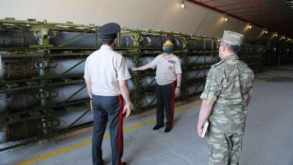 Министр обороны принял участие в открытии новой воинской части - Sputnik Азербайджан