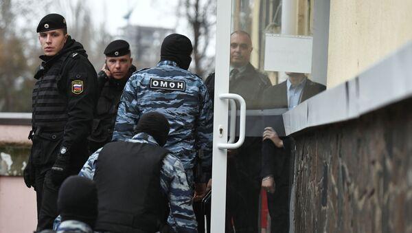 Сотрудники правоохранительных органов в России, фото из архива - Sputnik Азербайджан