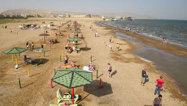 Открытие пляжного сезона в Баку, фото из архива - Sputnik Азербайджан