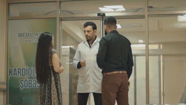 Кадр из сериала Sayrışan İşıqlar - Sputnik Азербайджан