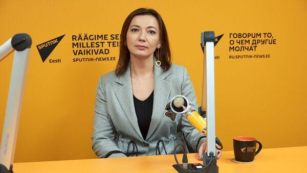 Руководитель представительства МИА Россия сегодня в Эстонии, шеф-редактор Sputnik Эстония Елена Черышева - Sputnik Азербайджан
