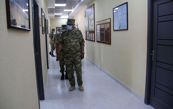 На територии воинской части ВВС Азербайджана - Sputnik Азербайджан