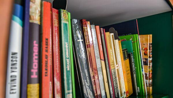 "Naftalanda ""Little Free Library"" (""Kiçik Pulsuz Kitabxana"")  - Sputnik Azərbaycan"