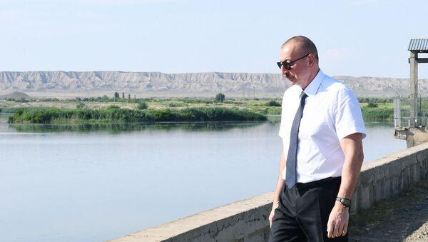 Prezidentin Samuxa səfəri - Sputnik Азербайджан