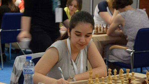 Азербайджанская шахматистка Гюнай Мамедзаде, фото из архива - Sputnik Азербайджан