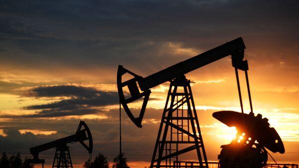 Работа нефтяных станков - качалок - Sputnik Азербайджан