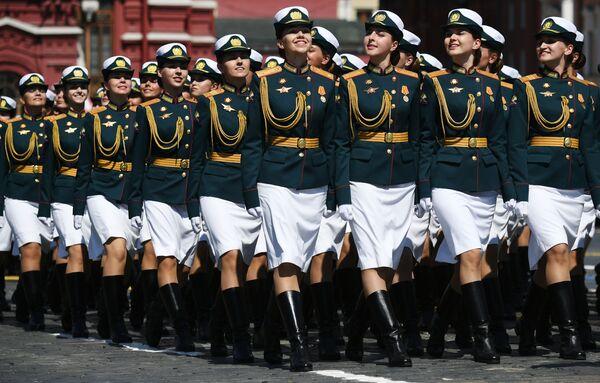 Военный парад в ознаменование 75-летия Победы - Sputnik Азербайджан