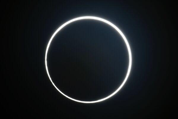 Солнечное затмение, наблюдаемое в центре Тайваня 21 июня 2020 года - Sputnik Азербайджан