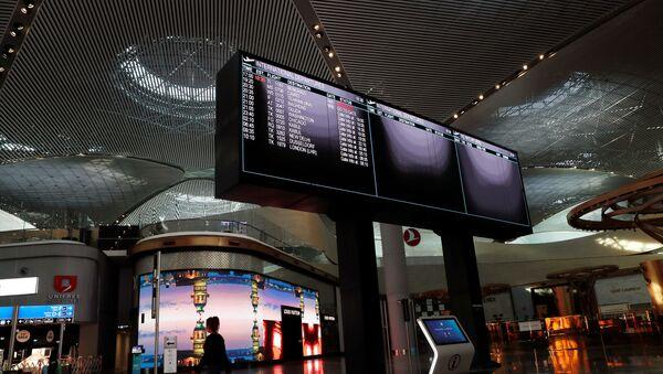 Аэропорт в Турции, фото из архива - Sputnik Azərbaycan