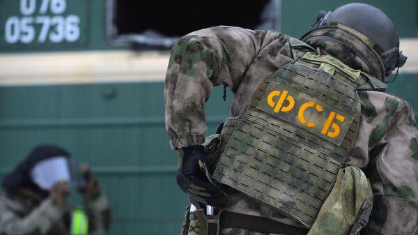 Сотрудник оперативного штаба ФСБ - Sputnik Азербайджан
