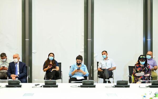 Пресс-конференция министра экономики Микаила Джаббарова - Sputnik Азербайджан