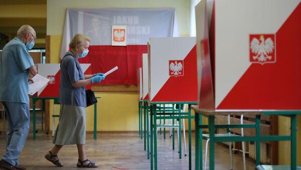 Выборы в Польше - Sputnik Азербайджан