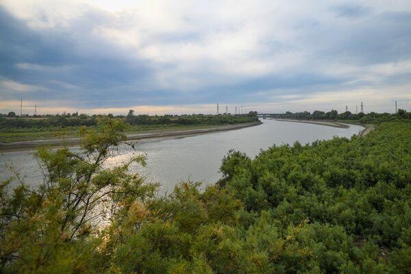 Обмеление реки Куры - Sputnik Азербайджан