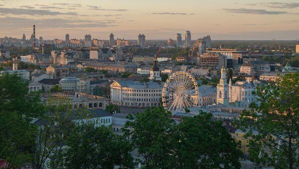 Вид на город Киев, фото из архива - Sputnik Azərbaycan
