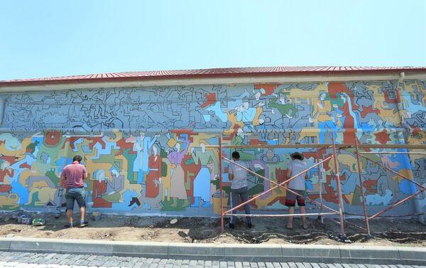Бакинский поселок Балаханы превращается в новую туристическую дестинацию - Sputnik Азербайджан