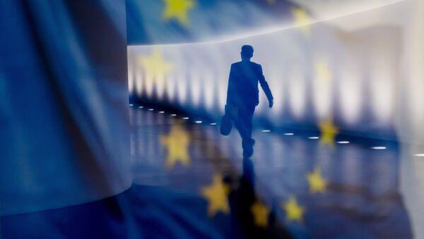 Флаг Европейского Союза (ЕС), фото из архива - Sputnik Azərbaycan