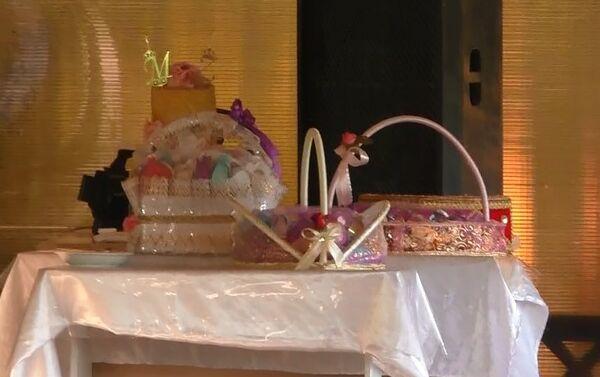 Церемония помолвки в ресторане в Газахе - Sputnik Азербайджан