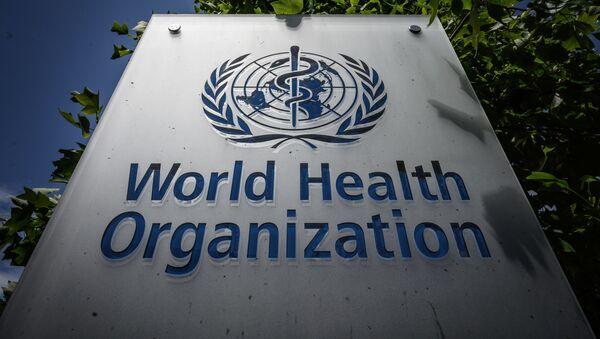 Штаб-квартира Всемирной организации здравоохранения (ВОЗ) в Женеве, фото из архива  - Sputnik Azərbaycan