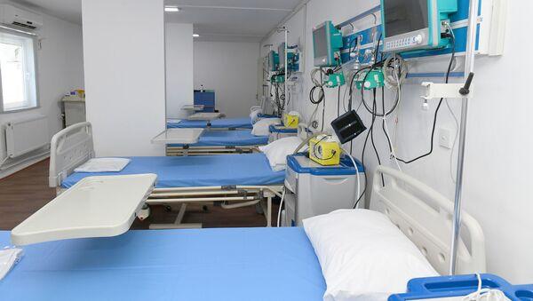 Больничная палата, фото из архива - Sputnik Azərbaycan