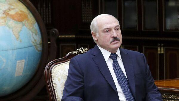 Президент Белоруссии Александр Лукашенко, фото из архива - Sputnik Азербайджан