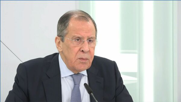 Лавров заявил об одержимости США идеей сдерживания России и Китая - Sputnik Азербайджан