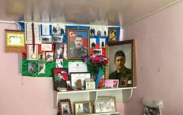 Дом членов семей прапорщиков Адиля Адильзаде и Теймура Гасымова, ставших шехидами в Апрельских боях 2016 года - Sputnik Азербайджан