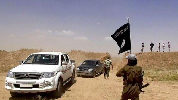 Islamic State militants - Sputnik Азербайджан